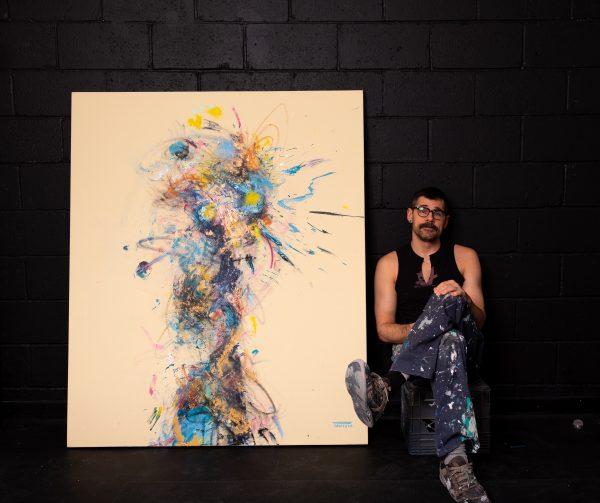 Pat Cantin artiste / Paper boy