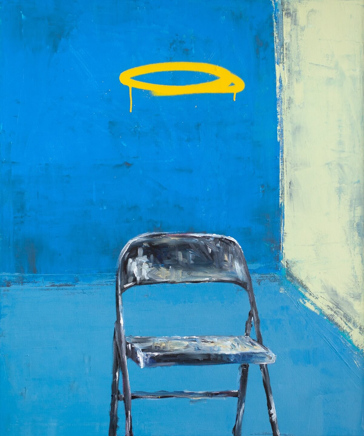 Pat Cantin Artiste Peintre / The loneliness of the chair as it supposed to be