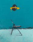 Pat Cantin Artiste Peintre / Seul sur le sable, les pieds dans l'eau, mon rêve était trop beau