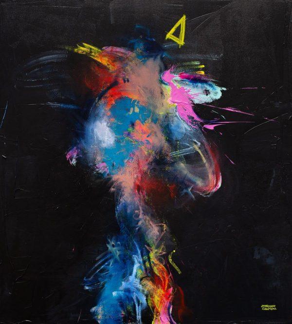 Pat Cantin Artiste Peintre / Mercy boy