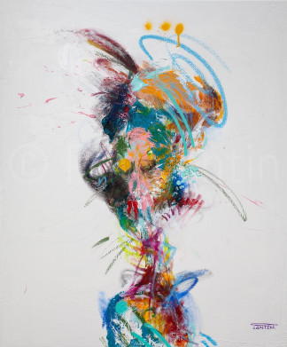 Pat Cantin Artiste Peintre / Passe plat