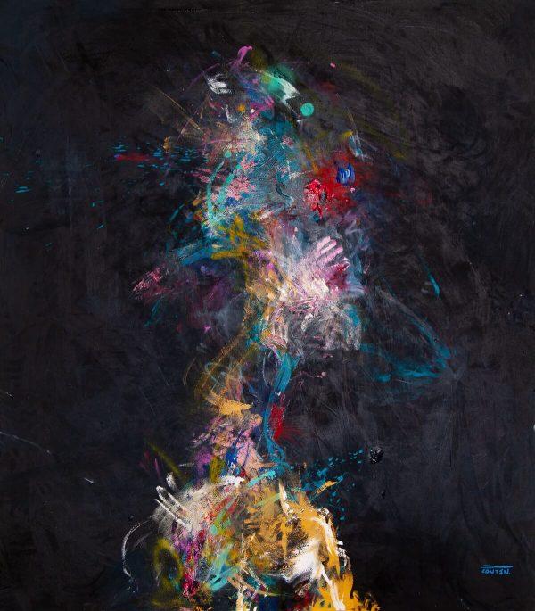 Pat Cantin Artiste Peintre / Figure W