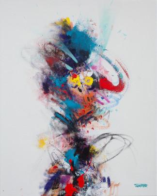 Pat Cantin Artist Painter / Fluffy