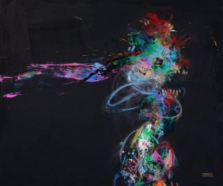 Pat Cantin Artist Painter / Piranha