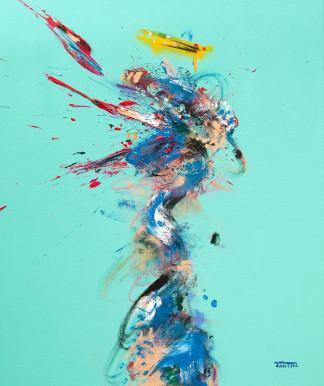 Pat Cantin Artist Painter / Carbon