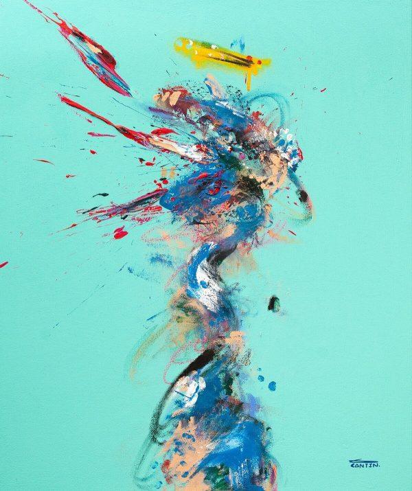 Pat Cantin Artiste Peintre / Carbone