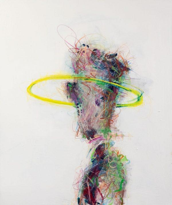 Pat Cantin Artiste Peintre / Side monkey