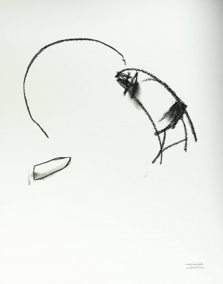 Pat Cantin Artist / Charcoal Study 17