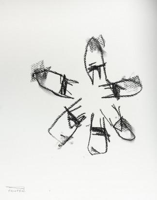 Pat Cantin Artist / Charcoal Study 16