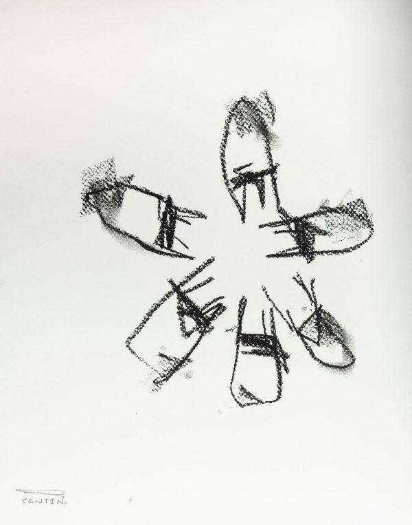 Pat Cantin Artist / Étude au fusain 16