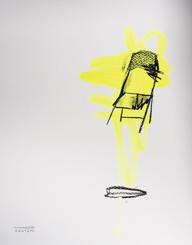 Pat Cantin Artist / Étude au fusain 15