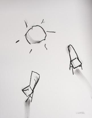 Pat Cantin Artist / Charcoal Study 14