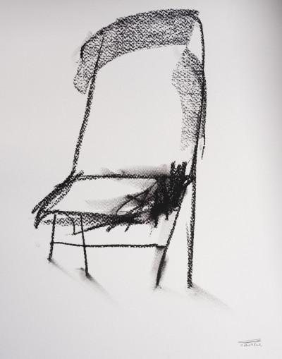 Pat Cantin Artiste / Étude au fusain 13