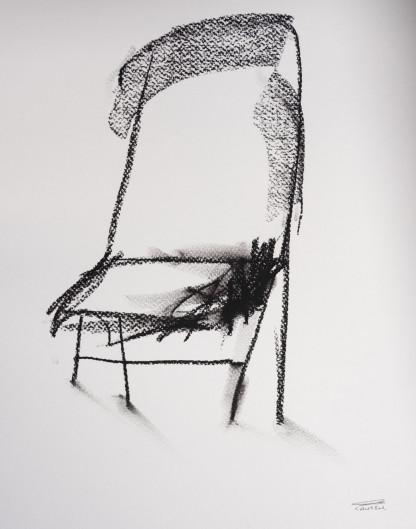 Pat Cantin Artist / Charcoal Study 13