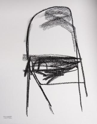 Pat Cantin Artist / Charcoal Study 09