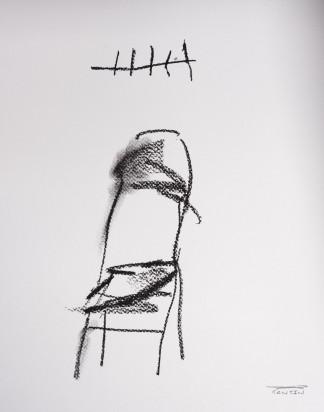 Pat Cantin Artist / Charcoal Study 07