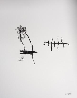 Pat Cantin Artist / Charcoal Study 06