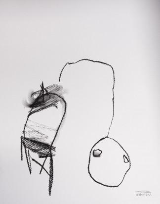 Pat Cantin Artist / Charcoal Study 03