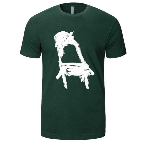 tshirt chaise Pat Cantin vert fotêt