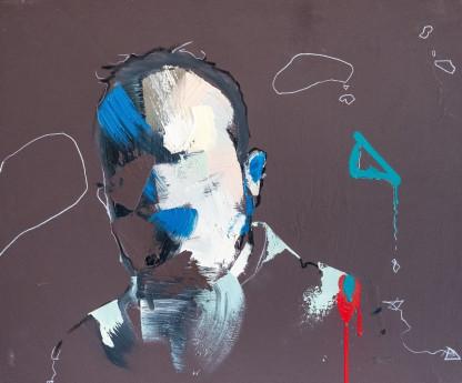Artist Pat Cantin / Babbling, original work