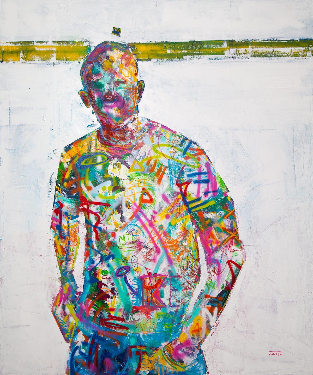 """Pat Cantin Artist / Ligne de """"post it"""""""