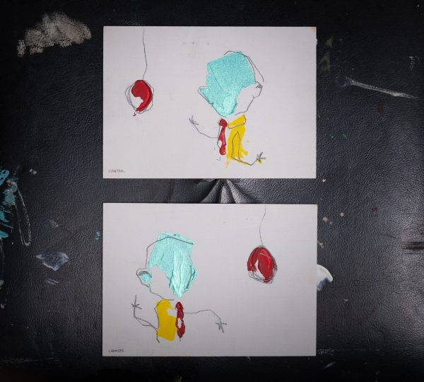 Pat Cantin Artist / Les frères ballon