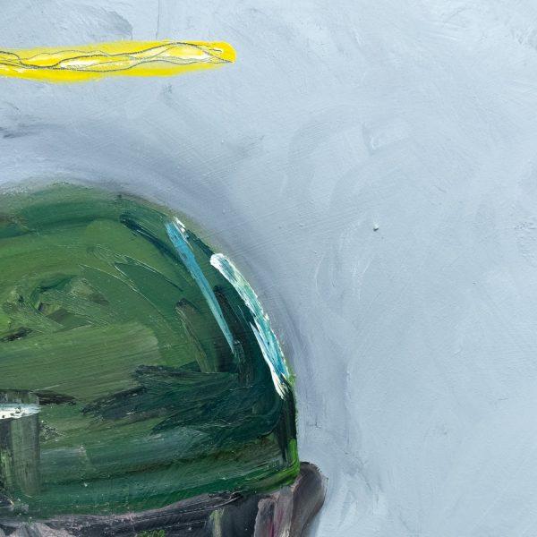 Pat Cantin Artist / Green hat