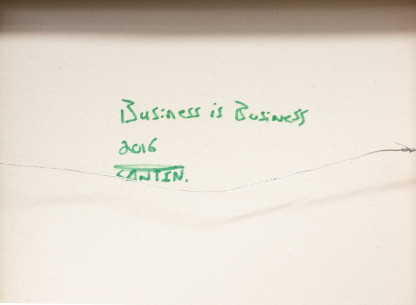 Pat Cantin Artist / Business is business