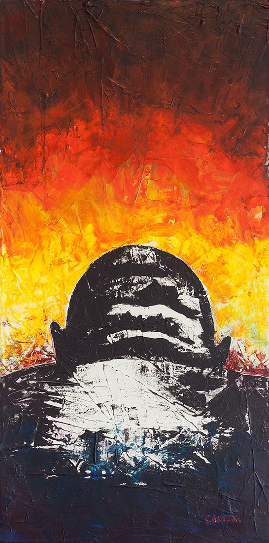 Pat Cantin artiste / Sunrise