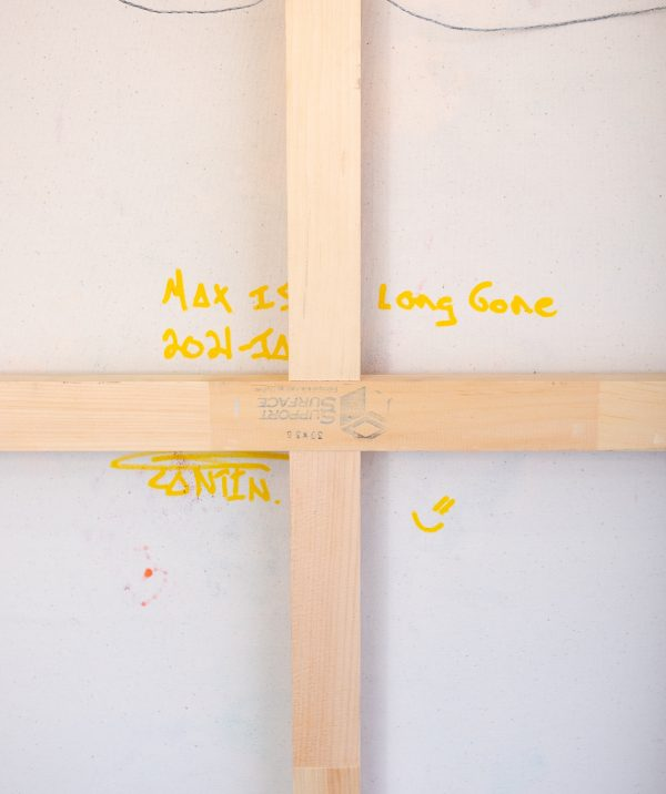 Pat Cantin artiste / Max is long gone