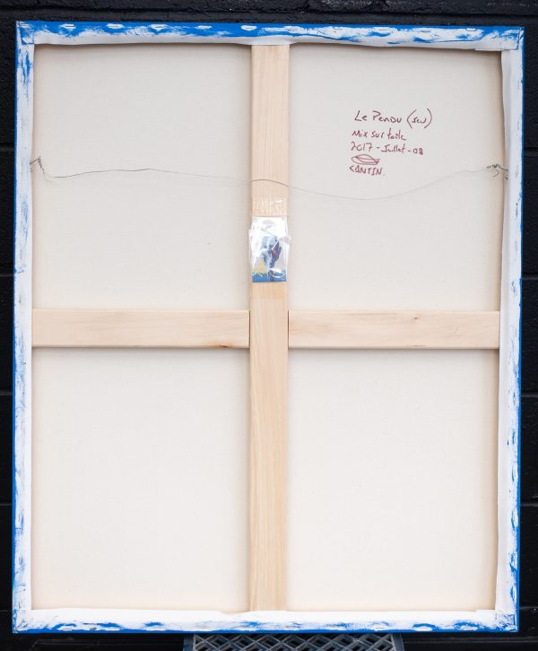 Pat Cantin artist / The Hanged man