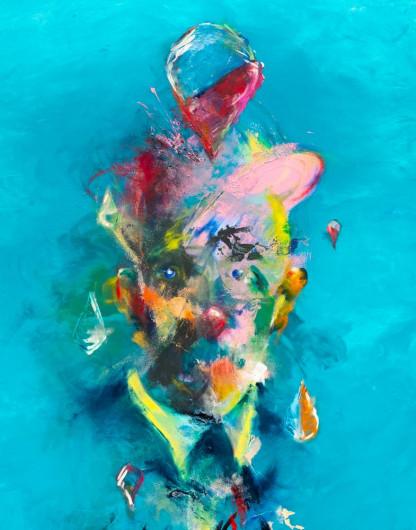 Pat Cantin Artist / L'inspiré (Romeo's gin bottle print)