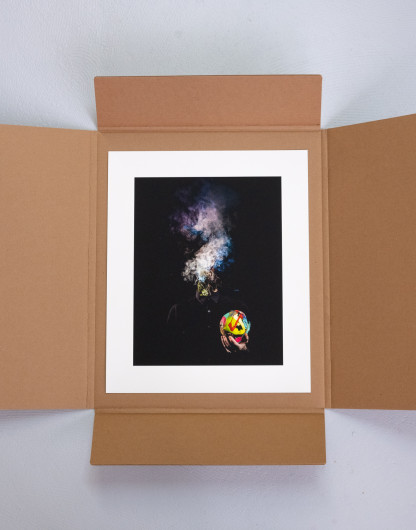 Artiste Pat Cantin / Smokey head