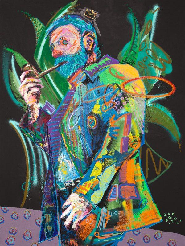Artist Pat Cantin / Smo-King