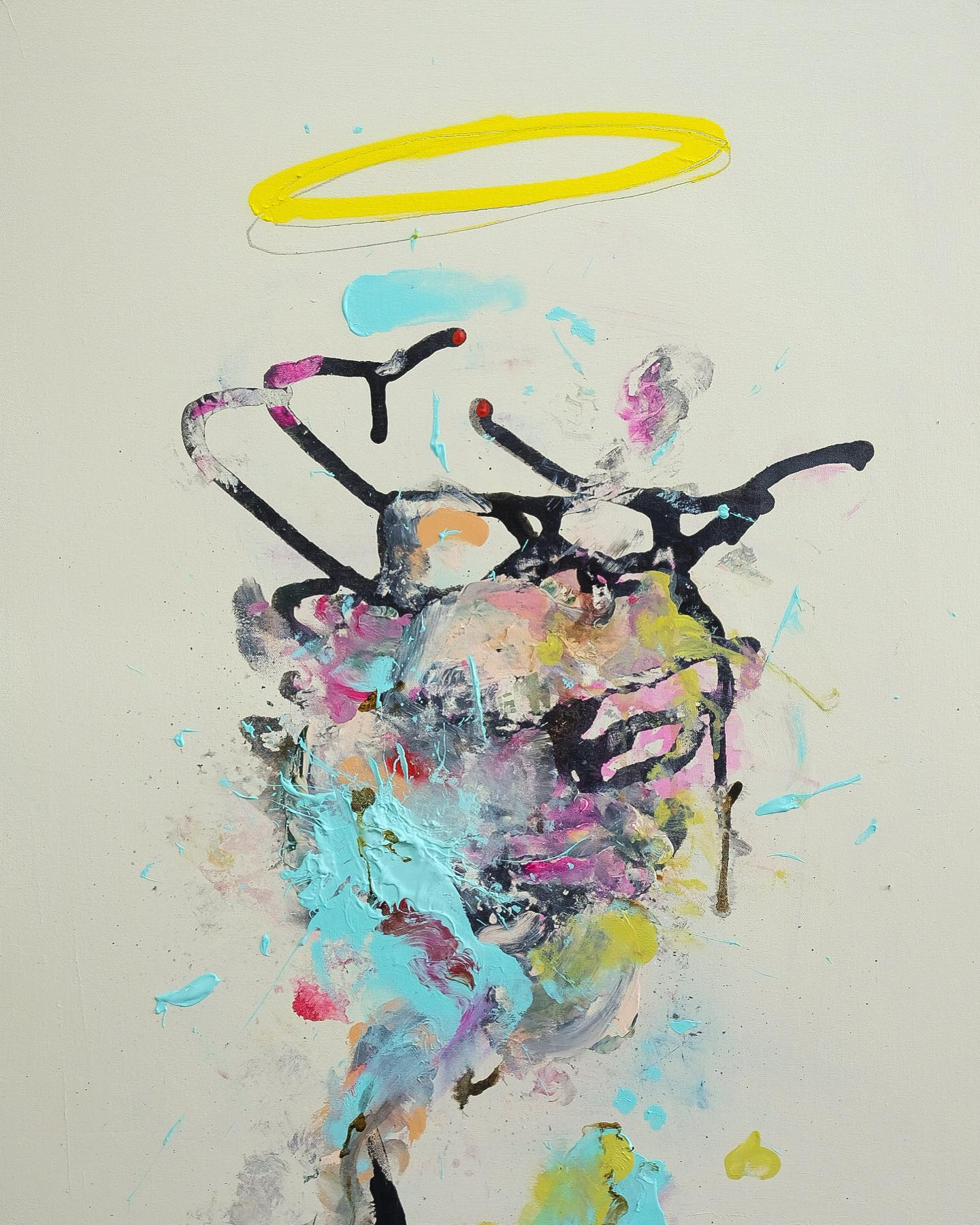 Pat Cantin Artist / Rain my dear