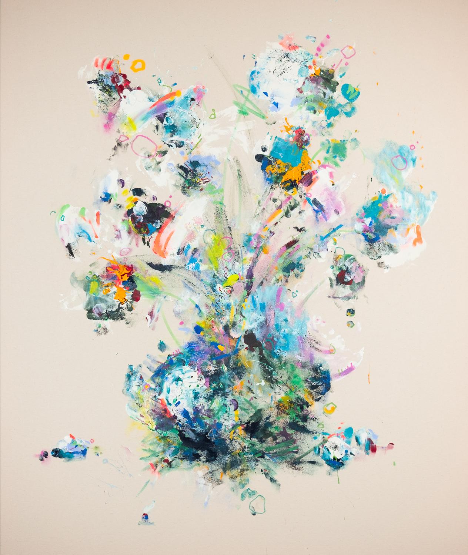 Pat Cantin Artist / Raw flowers