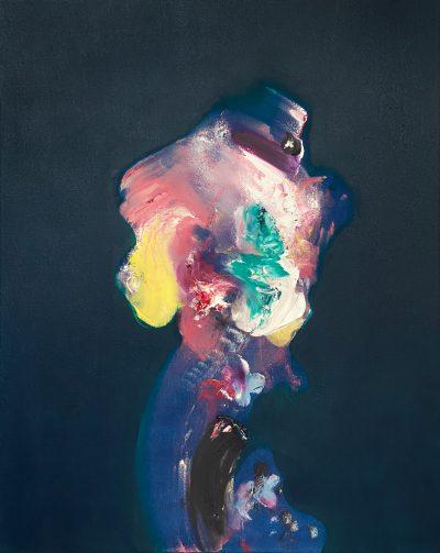 Pat Cantin Artiste / Celui au chapeau